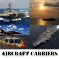Navy Aircraft Carriers Screensaver