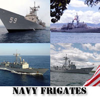 Navy Frigates Screensaver
